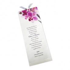 Faire part mariage orchidée SW