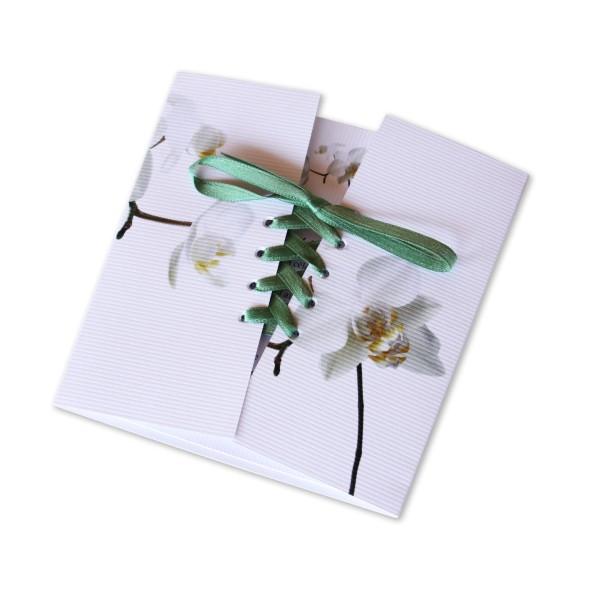 Hervorragend Faire Part Mariage Orchidée - Invited To JZ47