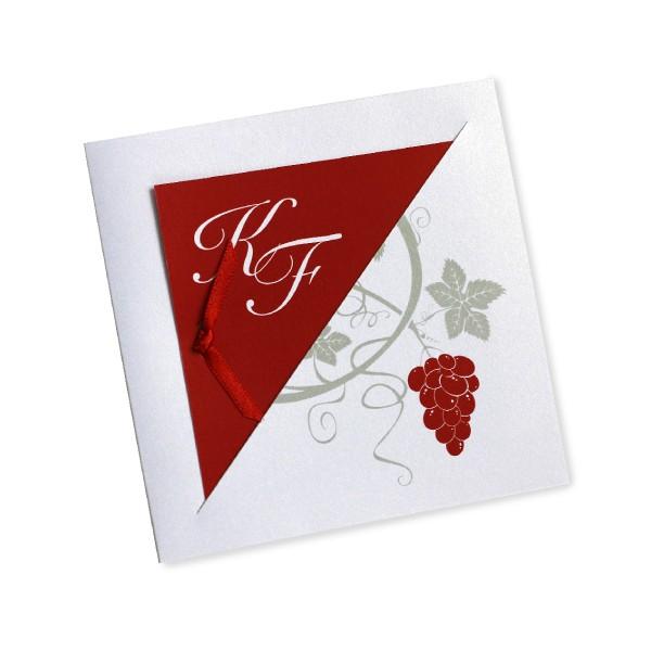 Fabuleux Faire part mariage vins et vignes - Invited To TJ08