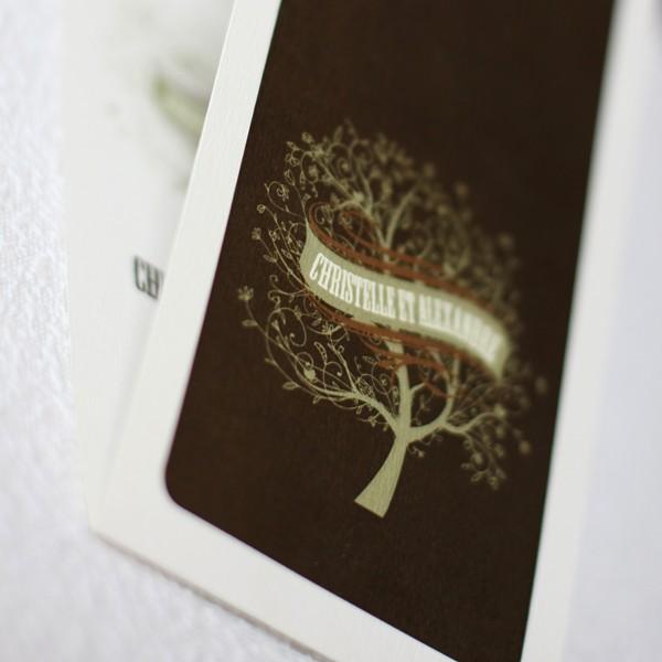 faire part mariage arbre en ivoire. Black Bedroom Furniture Sets. Home Design Ideas