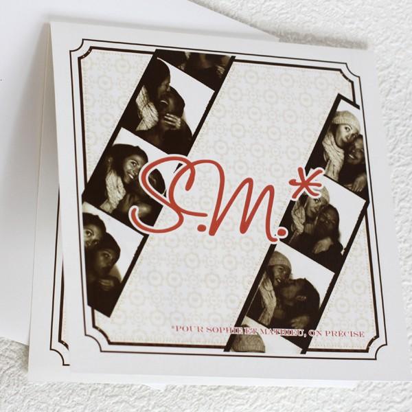couleurs faire part de mariage photomaton carr photomaton carr prcdent suivant - Faire Part Photomaton Mariage