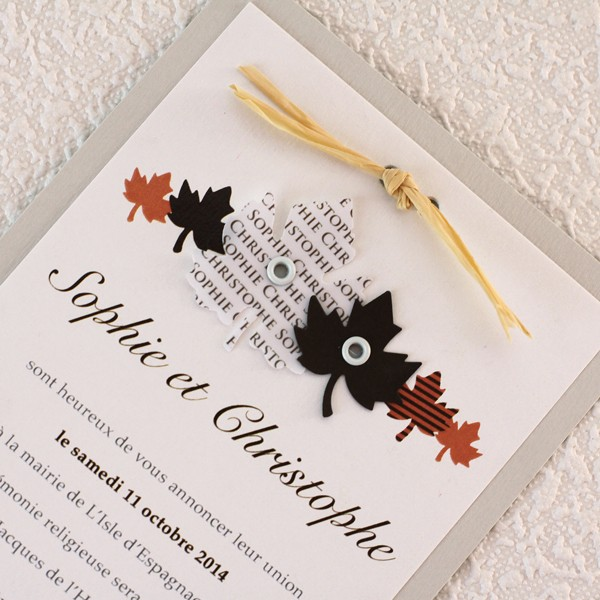 Extrêmement Gothic Wedding Cards - Amazing Invitation Template Design by Billy  ET49