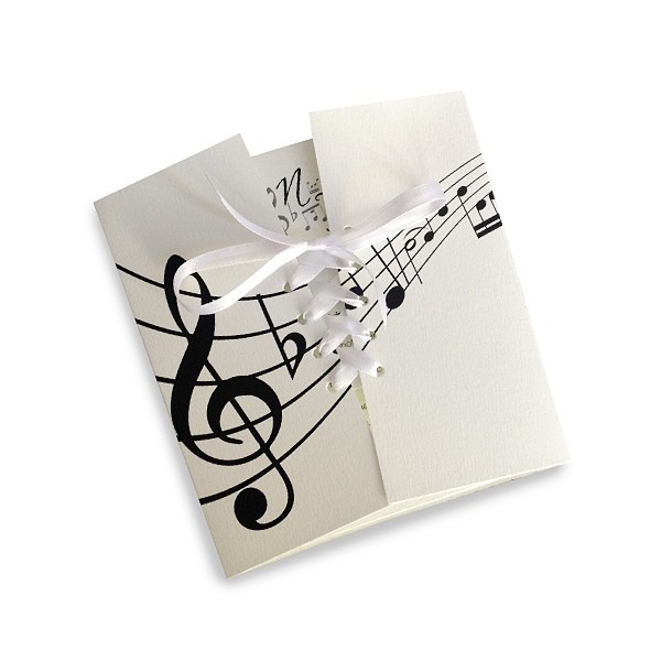 Wedding Invitation Music Notes. Previous. Next