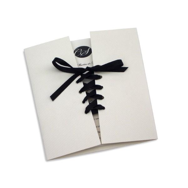 Souvent Faire part mariage corset GJ42
