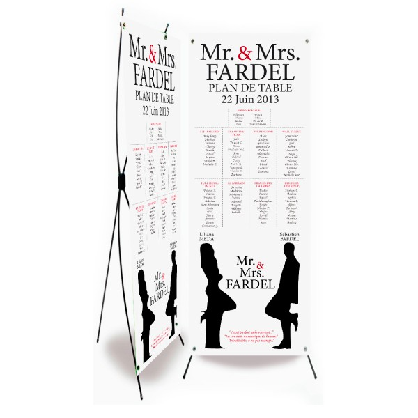 Plan de table mariage mr mrs smith - Planning avant mariage ...