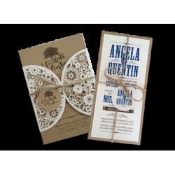 Vintage style invitations