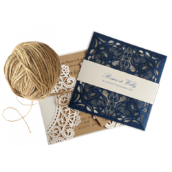 Dentelle wedding invitations