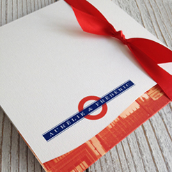 london wedding stationery