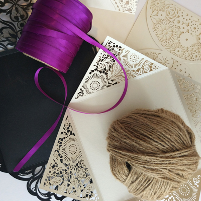 do it yourself wedding supplies