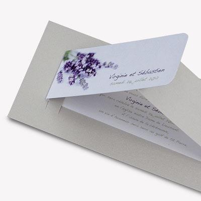 lavander wedding invitations