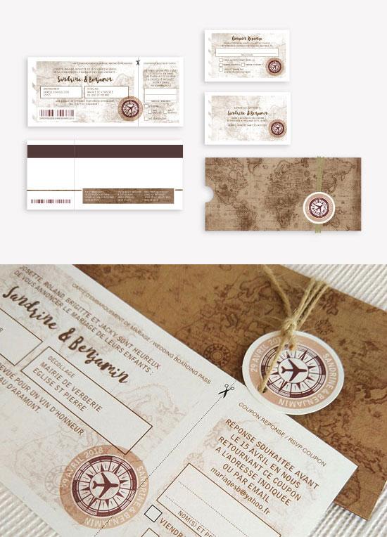 voyage travel invitations