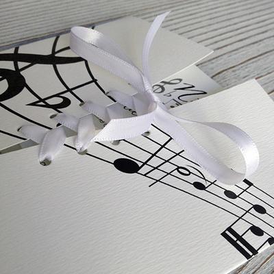 faire part mariage musique