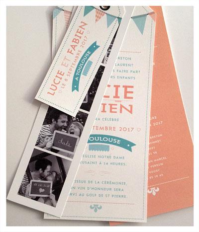 Photobooth invitations