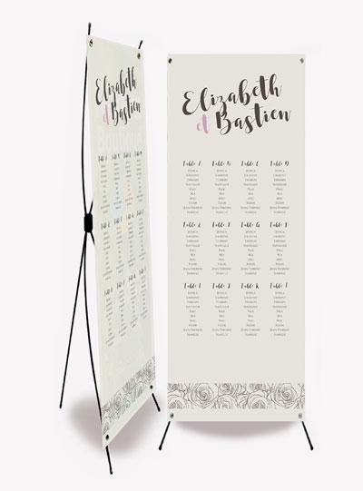 plan de table mariage bannière