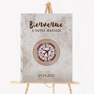 Wedding welcome boards