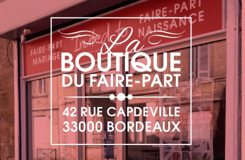 La boutique du faire-part